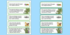 Jack and the Beanstalk Story Sequencing Cut and Stick Activity German
