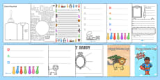 Father's Day After School Club Activity Resource Pack
