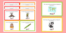 Final Phoneme Manipulation Challenge Cards
