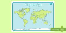 Map o'r Byd