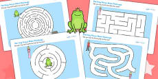 The Frog Prince Differentiated Maze Activity Sheet Pack