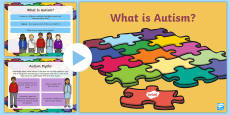 * NEW * What is Autism? PowerPoint