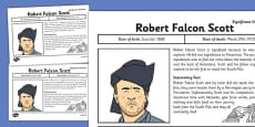 Robert Falcon Scott Significant Individual Fact Sheet