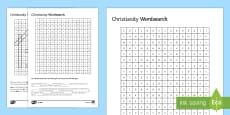 Christianity Differentiated Word Search