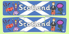 Scotland Display Banner