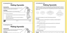 Making Pyramids Activity Sheet