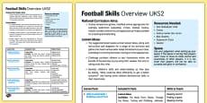 Football Skills Overview UKS2