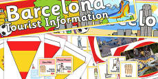 Barcelona Tourist Information Office Role Play Pack