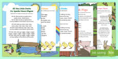 Spring Animal Songs and Rhymes Resource Pack