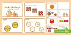 Year 1 Maths Challenge Cards