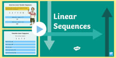 * NEW * Year 6 Linear Sequences PowerPoint