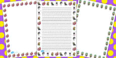 Monster Page Borders