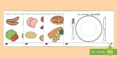 Ficha: La comida saludable