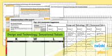PlanIt - D&T KS1 - Sensational Salads Unit Assessment Pack