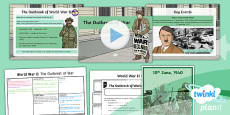 PlanIt - History LKS2 - World War II Lesson 1: The Outbreak of War Lesson Pack
