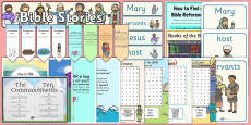 * NEW * Bible Quotes and Wordsearches Resource Pack