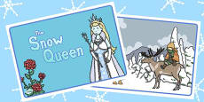 The Snow Queen Story Sequencing