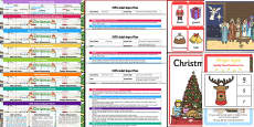 EYFS Christmas Themed Bumper Planning and Resource Pack