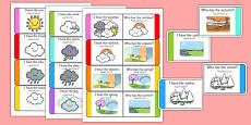 Weather Loop Cards Arabic Translation