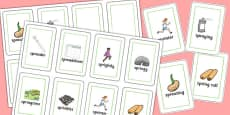 Two Syllable SPR Flash Cards