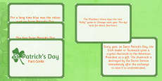 Interesting Facts about Saint Patrick's Day Display Cards