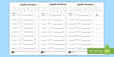 Karty Zagadki obrazkowe Dziesiątkowy system pozycyjny
