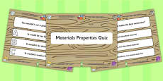Material Properties PowerPoint Quiz