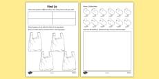 Find a Quarter Activity Sheet