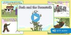 Jack and the Beanstalk Narrated Story