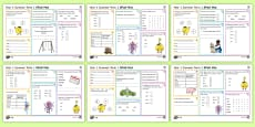 * NEW * Year 1 Summer Term 1 SPaG Activity Mats
