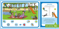 At the Park Can You Find...? Poster and Prompt Card Pack