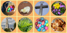 Easter Display Photo Cut Outs