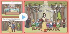 Snow White and the Seven Dwarfs Story PowerPoint