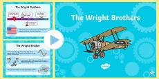The Wright Brothers Information PowerPoint