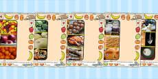 Australia - Food Groups Photo PowerPoint