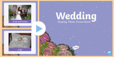 Wedding Display Photos PowerPoint