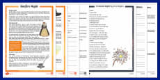 KS2 Bonfire Night Differentiated Reading Comprehension Activity Pack