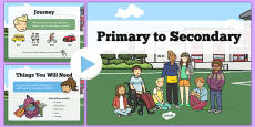Primary to Secondary School Transition PowerPoint