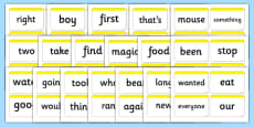 Next 200 Common Word Cards