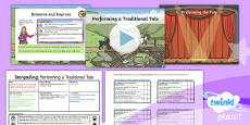 PlanIt Y4 Traditional Tales: The Three Billy Goats Gruff Lesson Pack Storytelling (3)