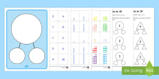 Number Facts to 10 Part Whole Activity Sheets