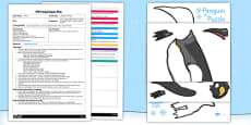 Labelling a Penguin EYFS Adult Input Plan and Resource Pack