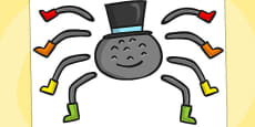 Incy Wincy Spider Split Pin (Australia)