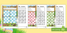 * NEW * Easter Themed Sudoku Activity Sheets