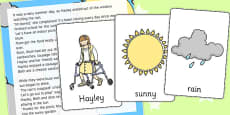 A Rainy Summer Day Listening Story Cards