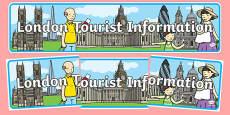 London Tourist Information Display Banner