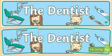 Dentists/Dental Surgery Role Play Display Banner