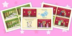 Cinderella Story Sequencing 4 per A4 Arabic Translation