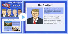 An Introduction to the President of the USA PowerPoint