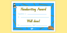 Handwriting Certificate NZ Font